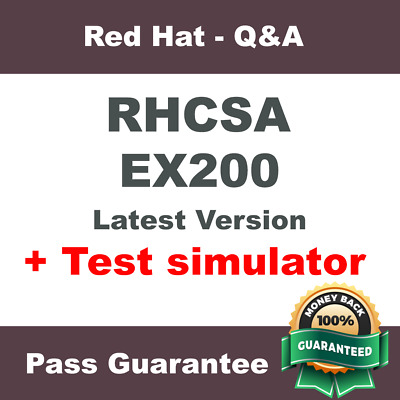 Red Hat RHCSA EX200 Certified System Administrator Exam Dump Q&A PDF (2018)