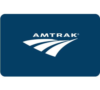 Amtrak - $25 $50 $100 - Email delivery