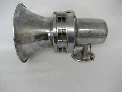 Vintage Champion police siren, by Darley, Type C389, 6 volts