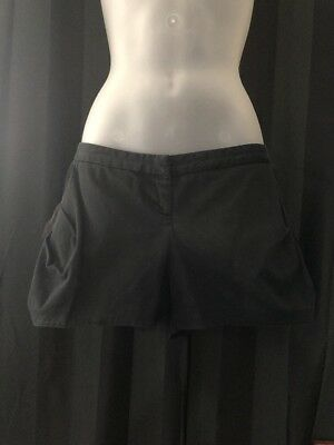 BARDOT Black Mini Shorts Size 14