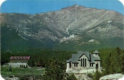 Dr Jim Stamps Us St Malo Boys Camp Church On The Rock Colorado View Postcard