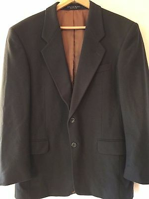 Gianfranco Ruffini Mens 39 R Cashmere Blend Blazer Sport Coat Jacket Gray ITALY