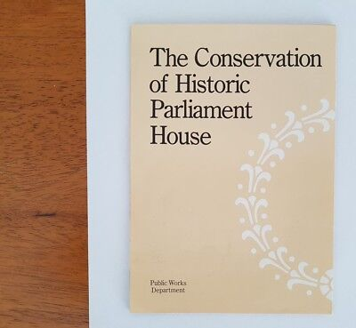 Book The Conservation of Historic Parliament House