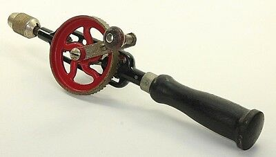 Vintage Millers Falls No5A Eggbeater Hand Drill Not Working Display Woodworking