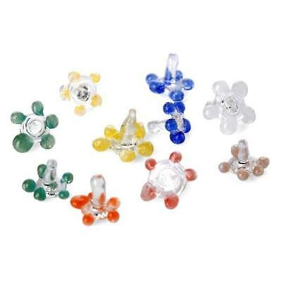 10 Premium Glass Daisy Screens For Pipe Smoking, Lowest Price + Free Shipping
