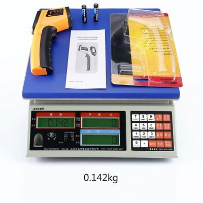 Non-Contact LCD Display IR Laser Infrared Digital Temperature ThermometerNR
