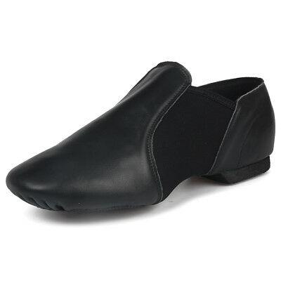 Genuine Leather Stretch Jazz shoes men women Jazz dance shoes girls child