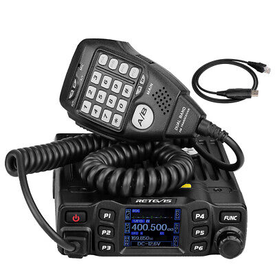 RETEVIS RT-9000D VHF 66-88MHz Mobile Car Ham Radio 200CH