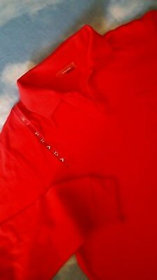 POLO T-SHIRT man vintage 90's  PRADA tg.M made in Italy NEW! rare
