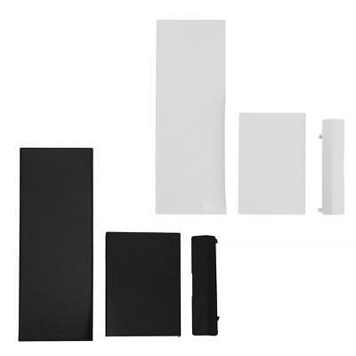 3pcs Memory Card Door Slot Cover Lids Replacement for Nintendo Wii Console New
