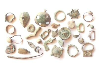 Lot of Misc. Ancient Bronze Artifacts @$@