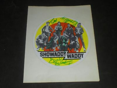 Showaddywaddy - Autogramm - 1970er - signiert - Autographs - signed