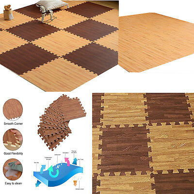 Play Mat Soft Non Toxic Extra Thick Foam Interlocking Floor Tiles for Playroom