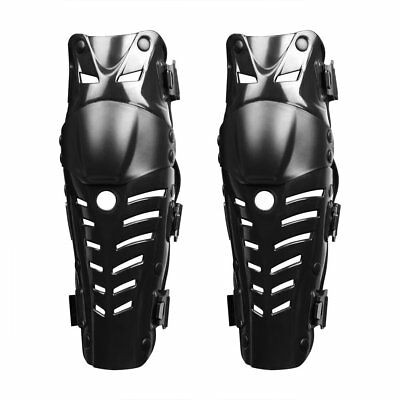 1 Pair of Adults Knee Shin Armor Protect Guard Pads for Motorcycle Racing AZ