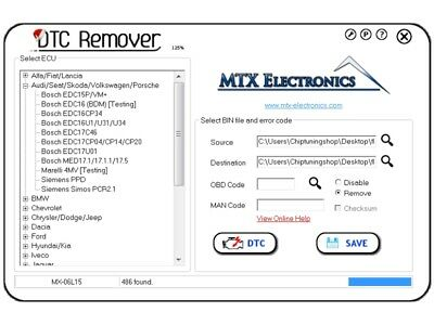 Professional Mtx Dtc Remover Full Version 2017
