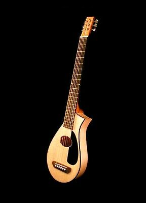 Vagabond Travel Guitar Hand Made With Pickup And Custom Case