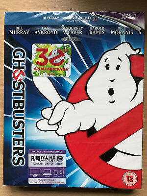 Ghostbusters 1984 Comedy Horror Classic U Blu-ray w/ Slipcover