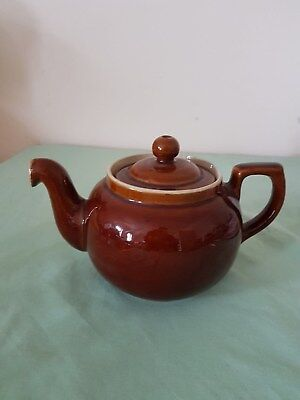 Denby Homestead 1 ¾ Pint Teapot Brown,  Kitchen Collectable