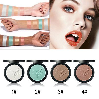 Facial Makeup Cosmetic Tool Face Powder Women Natural Highlighter Powder E3
