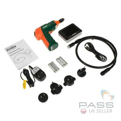 NEW Extech BR250 Video Borescope / Wireless Inspection Camera + Accessories (UK)