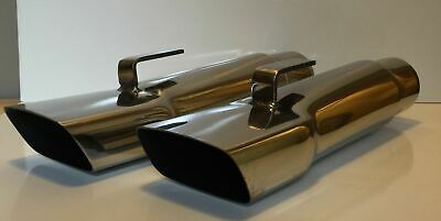 "2.25"" Mopar A Body Dodge, Demon, Dart, Duster, & Plymouth Stainless Exhaust Tips"