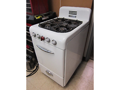 VINTAGE 1950\'S MAGIC Chef Apartment Size Gas Stove - $180.00 ...