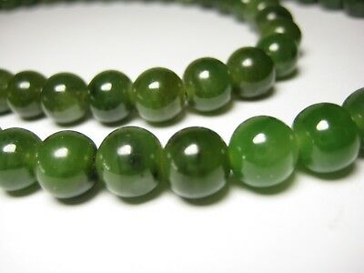 design intemporel 6f318 7abc8 80 CM COLLIER Jade 100% Nature Bijoux Collier de Perles Pierre