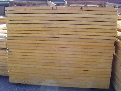 """4' x 8' x 3"""" inch thick foam insulation board wall, roof, under in floor heating"""