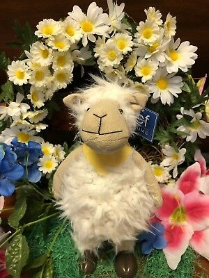 C & F: Fluffy Bobble Sheep with hand stitching on face and arms (46006048)