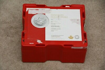 Canadian Royal Mint EMPTY Silver Maple Leaf Monster Box For 500 1oz Coins