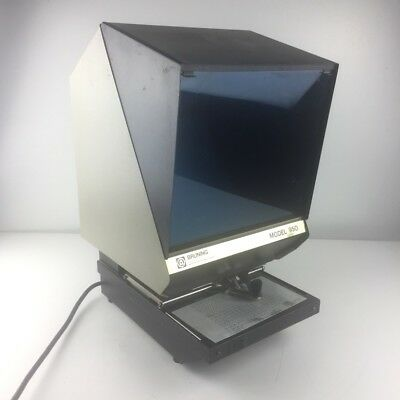 Eyecom 1100 Microfiche Machine Reader Micro Fiche Film  Viewer With Extra Bulb