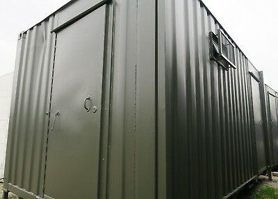 16x9ft  3+1Anti Vandal Jack Leg Site Toilet/Portable Toilet Block/ Cabin