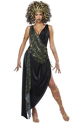 Brand New Sedusa Ancient Greek Mythology Medusa Adult Costume