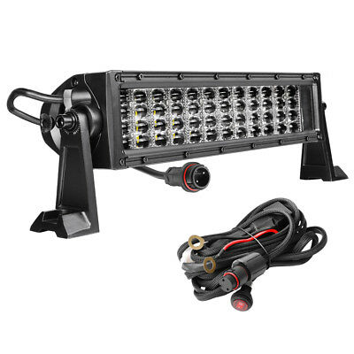 """14""""inch 480W Combo Driving Lamp LED Work Light Bar Offroad 4WD SUV ATV UTE Truck"""