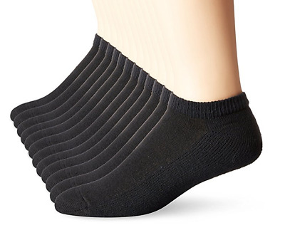 Hanes 6 Pack Classics No Show Mens Socks, Sock Size: 10-13/Shoe Size: 6-12