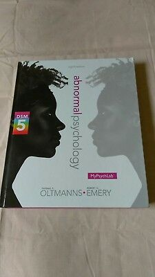 Abnormal psychology 8th Edition Oltmanns & Emery