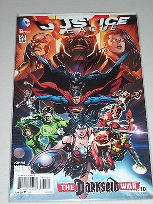 Justice League #50! (2011) Signed by Artist Jason Fabok! NM! COA!