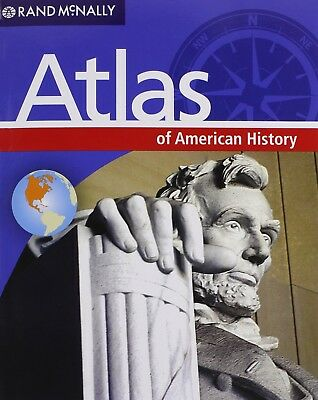 Atlas Of American History By Rand McNally 2012 VERY good condition