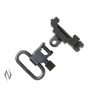 Uncle Mikes Swivel Attachment Fixed Black Picatinny - Sku: Um14050