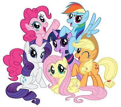 My Little Pony Iron On Transfer For T-Shirt & Other Light Color Fabrics #1
