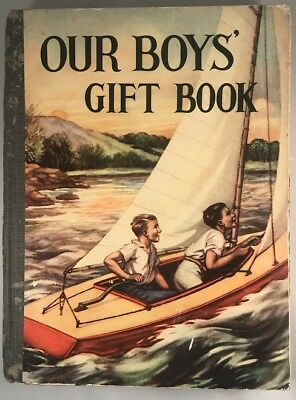 VINTAGE 1950s OUR BOYS' GIFT BOOK