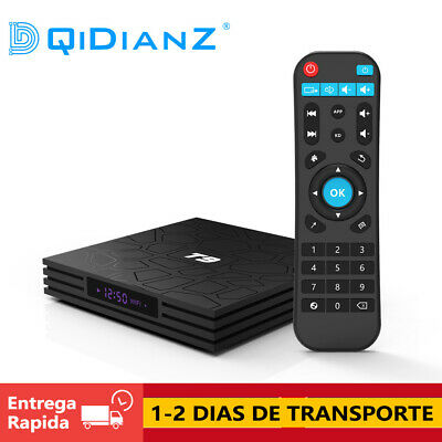 DQiDianZ T9 Gran memoria 4+32G 64GB Android 8.1 Smart TV Box Multimedia caja