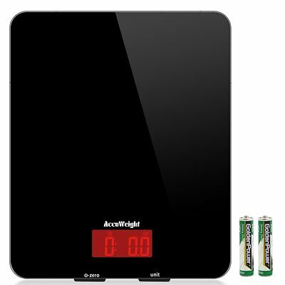 Accuweight Digital Multifunction Food Meat Scale with LCD Display Perfect for...