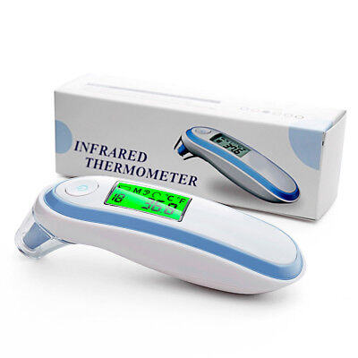 Infrared Digital Thermometer Medical Forehead and Ear For Baby Kids Adults AU GL