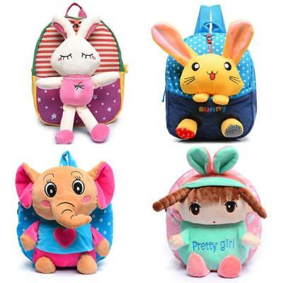 New Children Kids Kindergarten School Bag Toddler Girl Boy Backpack Book Bags