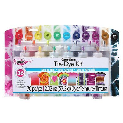 Tulip One-Step 12 Color Tie-Dye Kit Super Big, New, Free Shipping