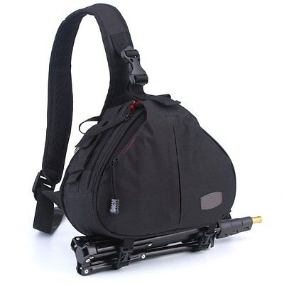 Canon Nikon Sony Camera Backpack Sling Shoulder Bag Case Shockproof For DSLR SLR