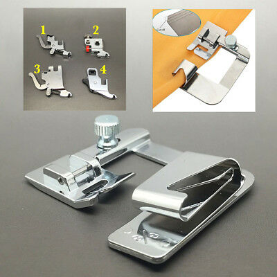 Domestic Sewing Machine Snap on Hem Foot Presser Feet For Brother Hemmer Janome