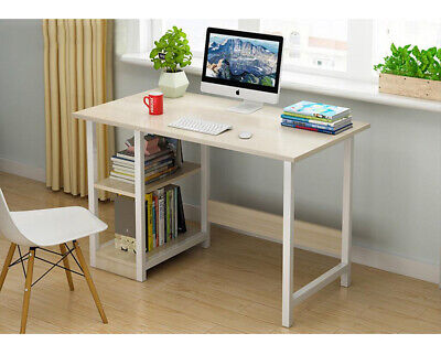 Computer Desk Drawer Cupboard Storage Shelves Home Office PC Table Study UK