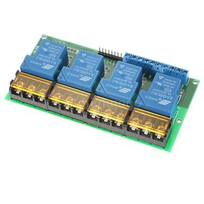 4-Channel DC 12V 30A Relay Module Control Board Optocoupler Isolation 4CH W8A7